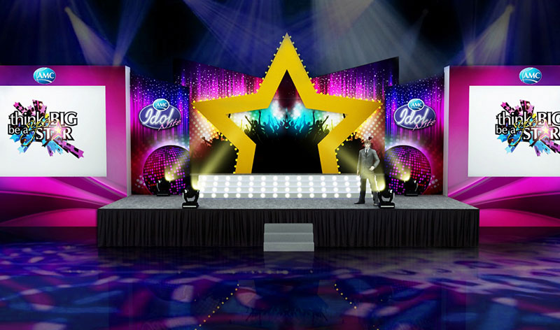 3d stage designs for events